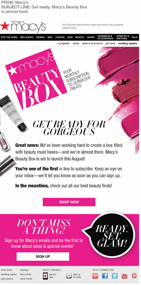 Macys Beauty Box